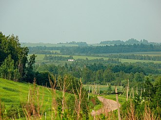 Smolensky District, Smolensk Oblast - Landscape in Smolensky District