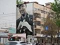 Екатеринбург, ул.Хохрякова,21-4, рисунок Гагарина на стене, 16.05.2015 - panoramio.jpg