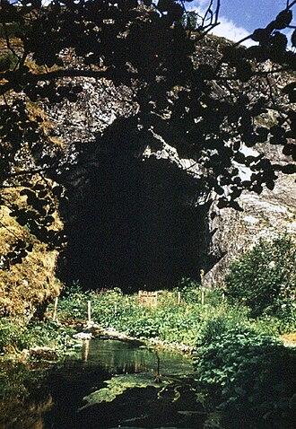 Kapova Cave - Kapova cave entrance