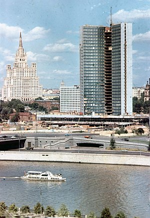 Soviet Census (1979) - Moscow in 1970. The Soviet Union experienced increased urbanization between 1970 and 1979.