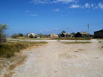 Tuzla Island - Fishing settlement at Tuzla in 2007