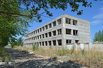 36th Army (Soviet Union) - Abandoned barracks of the 18th Fortified Region, Krasnokamensk