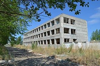 36th Army (Soviet Union) - Abandoned barracks of the 18th Fortified Region, Krasnokamensk