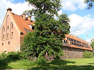 Bagrationovsk - Remains of the Preußisch Eylau Castle