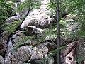 Скелі поблизу с. Бубнище на Івано-Франківщині (2).jpg