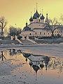 Церковь Спаса на Городу, весенние закатные отражения.jpg