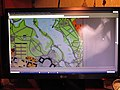 Элемент плана Красногвардейска 1939 года на экране монитора.JPG