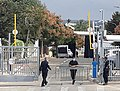 הוילון השחור ליד ביתו של בני גנץ בראש העיר.jpg