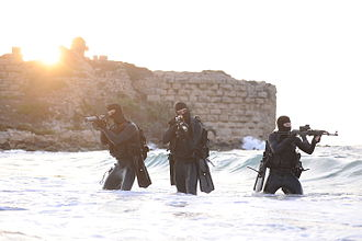 Counter-terrorism - Shayetet 13, the Israeli naval special forces.