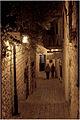צפת - לילה בסמטאות העיר העתיקה.JPG