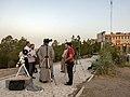 استهلال ماه رمضان در شهر قم، عکاس مصطفی معراجی، بلندی های بوستان علوی قم 04.jpg
