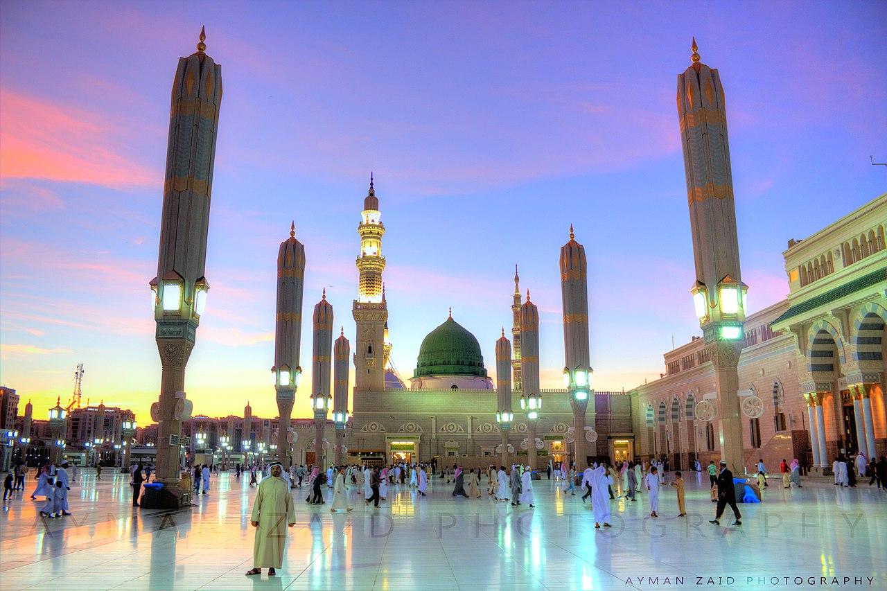 File:المسجد النبوي الشريف - المدينة المنورة.jpg