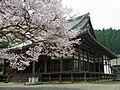 吉野町飯貝 本善寺本堂 Main hall of Honzenji 2012.4.10 - panoramio.jpg