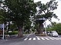 松本神社前交差点 - panoramio.jpg