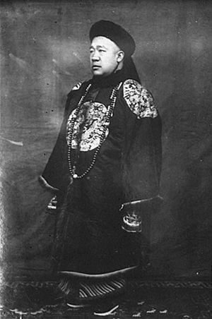 Yoshiko Kawashima - Shanqi (1866–1922), Kawashima's biological father