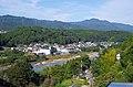 野々熊垣内から吉野川を見る View toward Yoshinogawa riv. from Nonokuma 2013.9.28 - panoramio.jpg