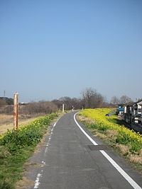 自転車道 群馬 自転車道 : 群馬県道401号高崎伊勢崎自転 ...