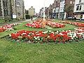-2019-09-04 Flower beds in Cromer churchyard.JPG