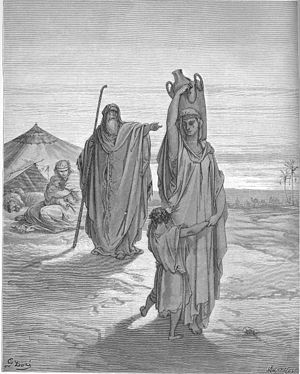 Abraham Sends Hagar and Ishmael Away (Gen. 21:...