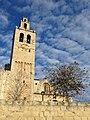 020 Monestir de Sant Cugat del Vallès, campanar.JPG