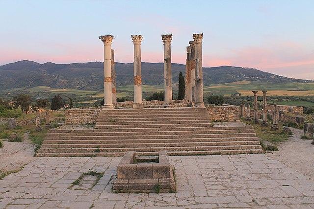De tempel van Volubilis