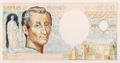 1000 francia frank, bankjegyterv, Montesquieu-típus, hátoldal.png