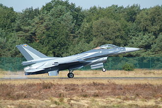 Kleine Brogel Air Base - Image: 10 Wing F 16AM FA 134 of the Belgian Air Force (3935321036)