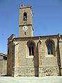 113 Església de Santa Maria, façana sud i campanar.jpg
