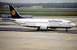113bq - Lufthansa Boeing 737-330, D-ABEL@FRA,20.10.2000 - Flickr - Aero Icarus.jpg
