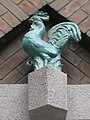 1160 Thalheimergasse 34-38 Stg. 4 - Friedrich Becke-Hof - Keramik-Wandplastik Hahn IMG 8068.jpg