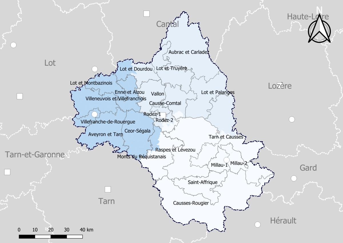 Aveyron département