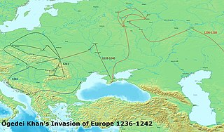 Mongol invasion of Kievan Rus Mongolian invasion of Kievan Rus