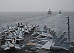 130412-N-LP801-006 USS Nimitz underway with USNS Henry J. Kaiser & USS Princeton 12 April 2013.jpg