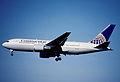 132av - Continental Airlines Boeing 767-224ER; N76153@ZRH;12.05.2001 (4847920835).jpg