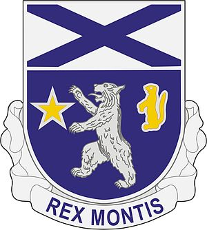 136th Infantry Regiment (United States) - Image: 136 Inf Rgt DUI