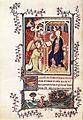 14th-century painters - Page from the Très Belles Heures de Notre Dame de Jean de Berry - WGA16008.jpg