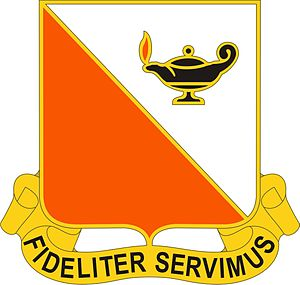 15th Signal Brigade (United States) - Image: 15 Sig Bde DUI