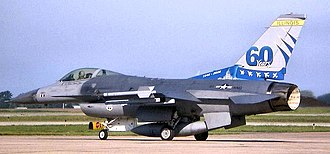 183rd Fighter Wing - Image: 170th Fighter Squadron 60th Anniversary F 16