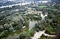 178R12270888 Blick vom Donauturm, im Hintergrund, Kagraner Brücke, Wagramerstrasse, ÖBB.jpg