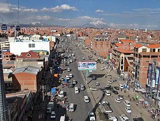 El Alto City and municipality in La Paz Department, Bolivia