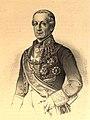 1853-1860, Blasón de España, libro de oro de su nobleza, parte primera, casa real y Grandeza de España, Ángel de Saavedra y Ramírez (cropped).jpg