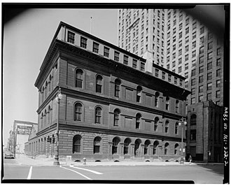 Henry Billings Brown - Old Federal Building in Detroit where Brown presided as District Judge from 1875-1890