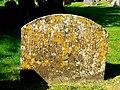 18th century gravestone, St Peter ad Vincula church, Broad Hinton - geograph.org.uk - 552449.jpg