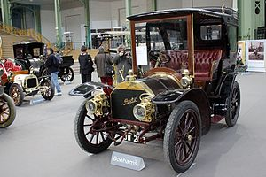 Automotive industry in France - 1903 BeRliet 20CV Demi Limousine