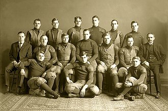 1906 Michigan Wolverines football team - Image: 1906 Michigan Wolverines football team