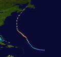 1926 Atlantic hurricane 2 track.png