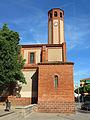 192 Sant Pere de Gavà, façana oest i campanar.JPG