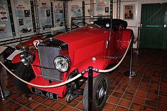 Railton (car) - 1934 Railton Terraplane at Brooklands Museum