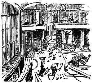 Kieler Nachrichten - 1935 illustration by Helmuth Ellgaard in the Kieler Neueste Nachrichten, to which the post-WWII paper is a successor.
