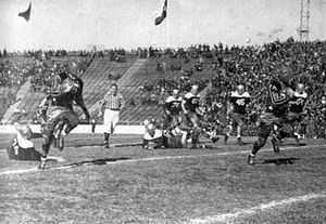 Cotton Bowl Classic - Action during the 1939 game between St. Mary's and Texas Tech